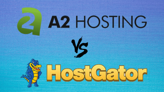 A2Hosting vs Hostgator