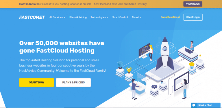 Fastcomet - Best Website Hosting