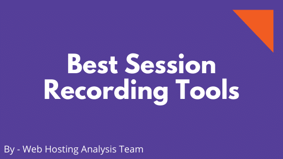 Best Session Recording Tools