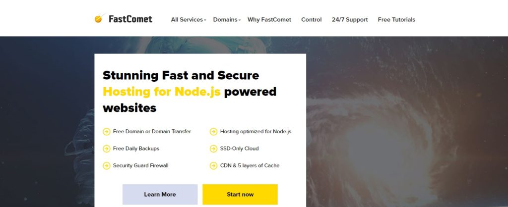 Fastcomet Node Js Hosting