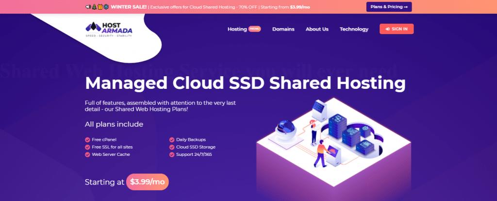 HostArmada - Best Web Hosting