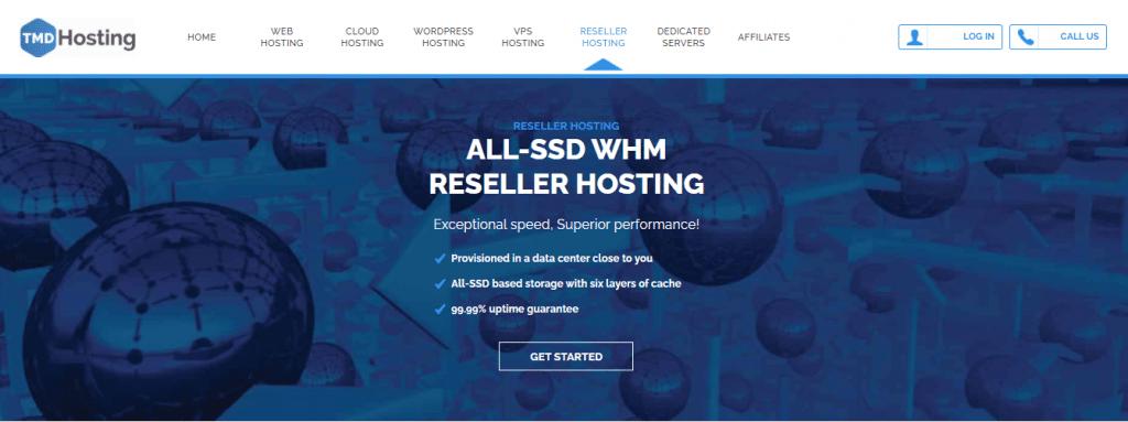 TMDHosting - Reseller Hosting