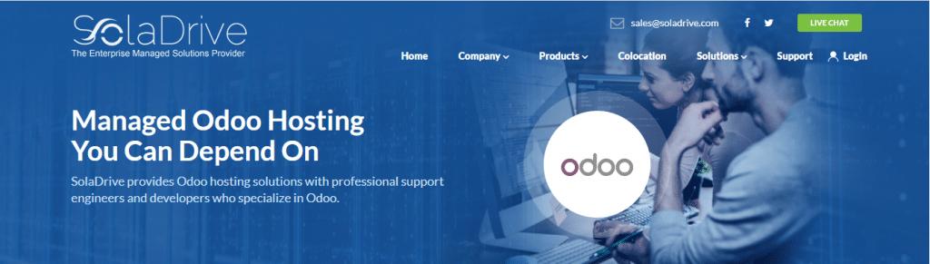 SolaDrive Odoo Hosting